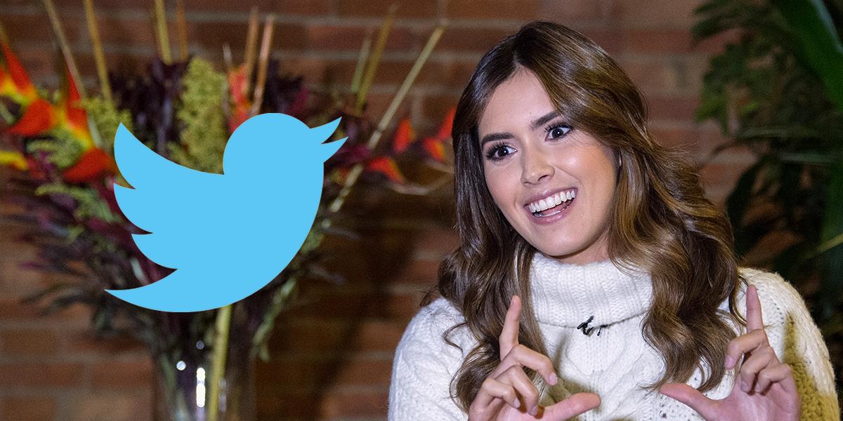Tras polémica por anunciar su voto, Paulina Vega vuelve a abrir su cuenta de Twitter