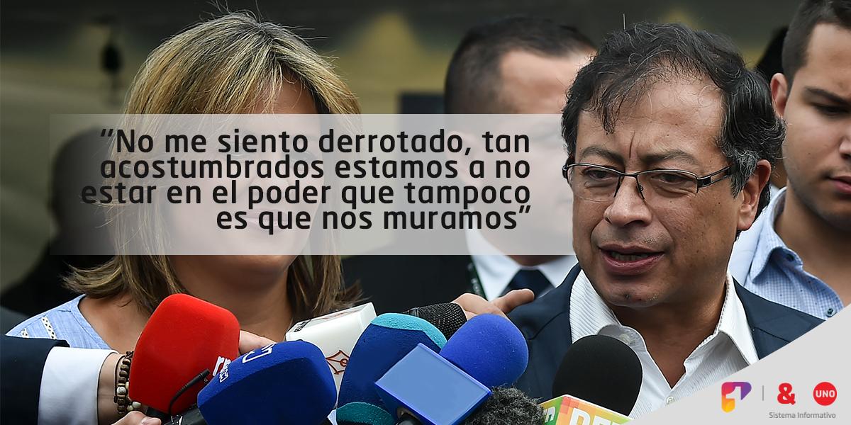 'Deseo que Duque rompa coalición con Uribe y Ordóñez. Tengo esa esperanza': Petro