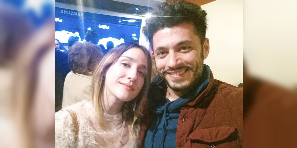 Santiago Alarcón habló de la relación con su esposa 'Chichila' Navia