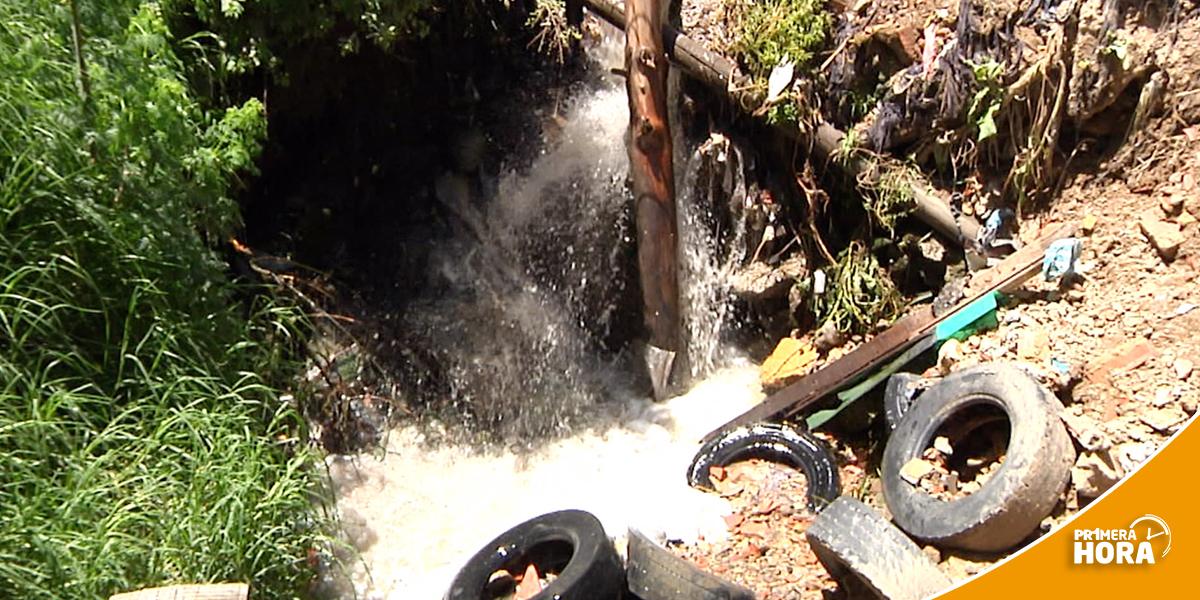 Aguas negras, un problema que afecta la salud de los habitantes de Soacha