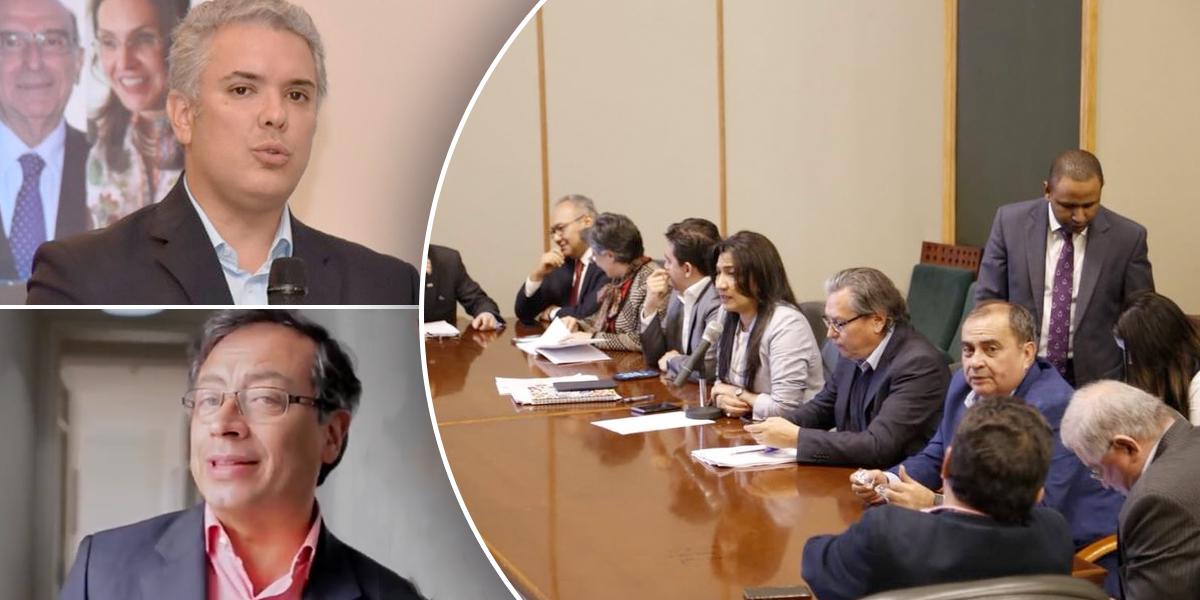 CNE declara resultado de primera vuelta presidencial