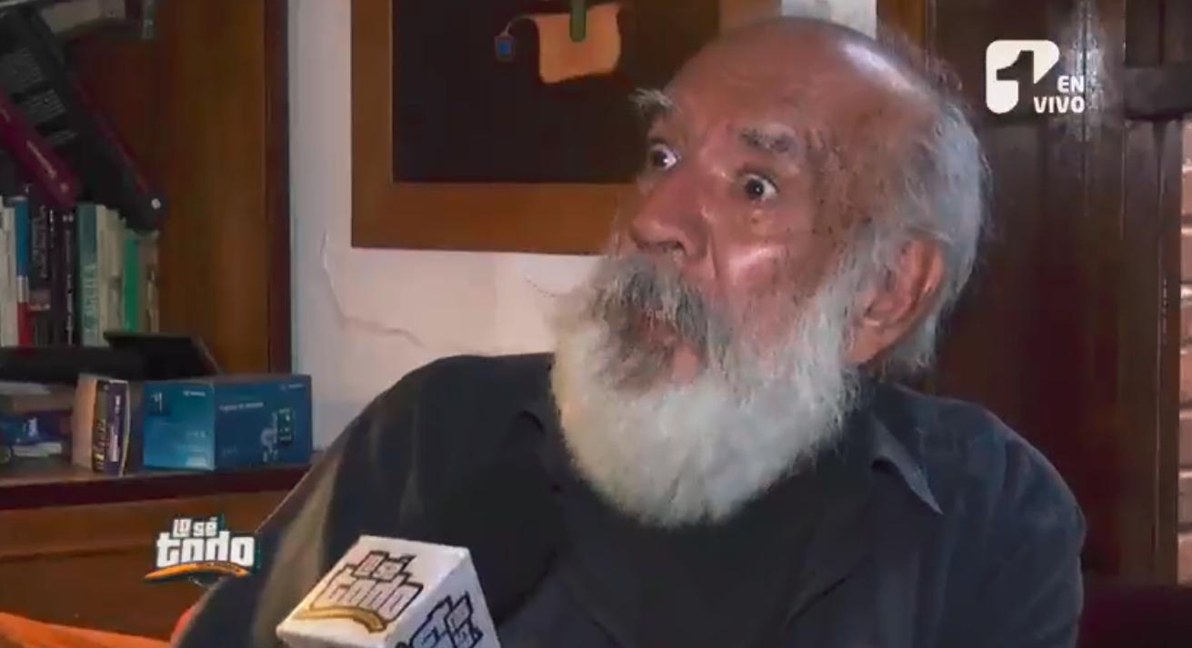 Gustavo Angarita habló por qué está tan alejado del teatro