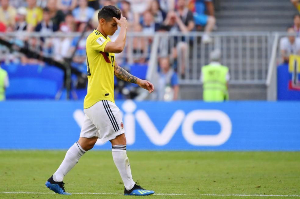 James regresa al Real Madrid para tratar su nueva lesión en rodilla