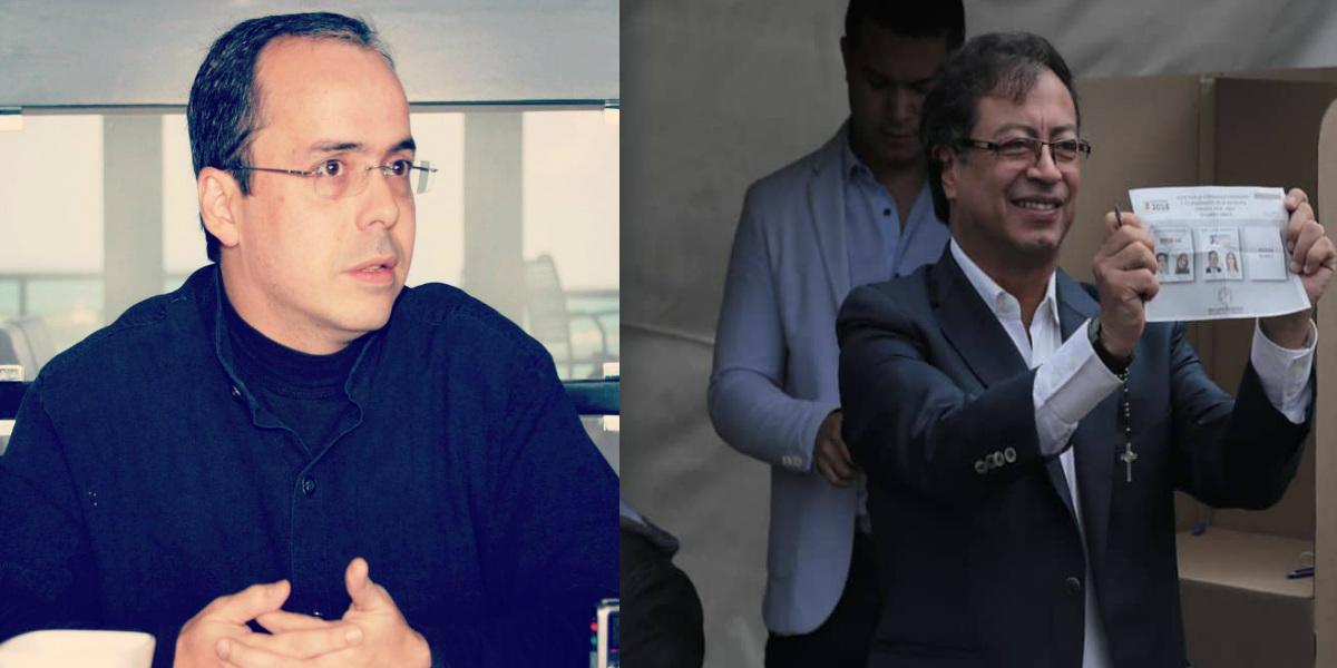 Los mensajes despectivos de J.J. Rendón hacia Gustavo Petro por su derrota