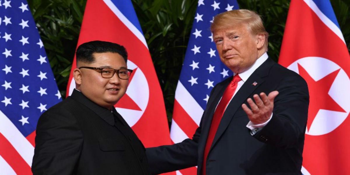 El «chiste» de Trump en reunión con Kim Jong-un que se volvió viral