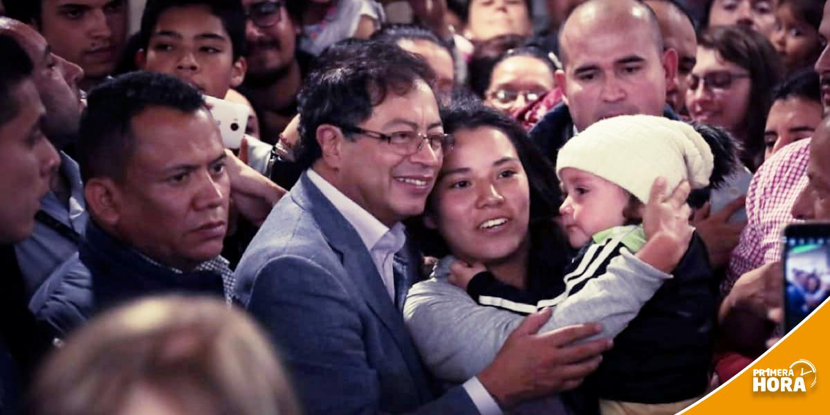 Gustavo Petro suma apoyo de cara a la segunda vuelta presidencial
