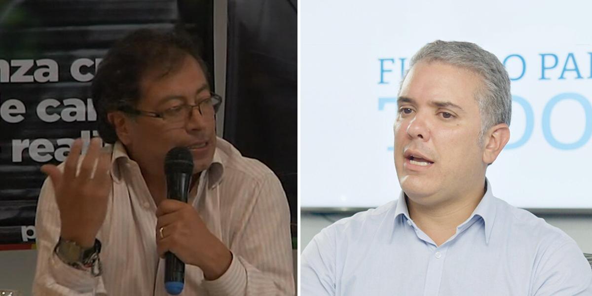Se agudiza polémica por debate presidencial entre Petro y Duque