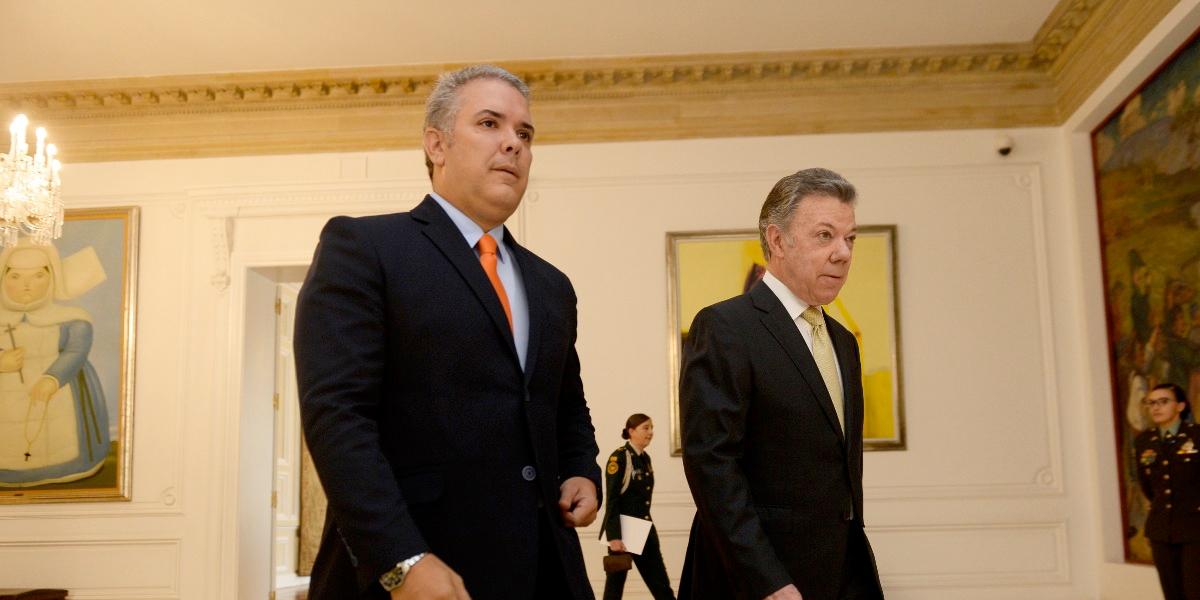 Santos espera que Duque no se deje manipular y que Uribe lo deje gobernar
