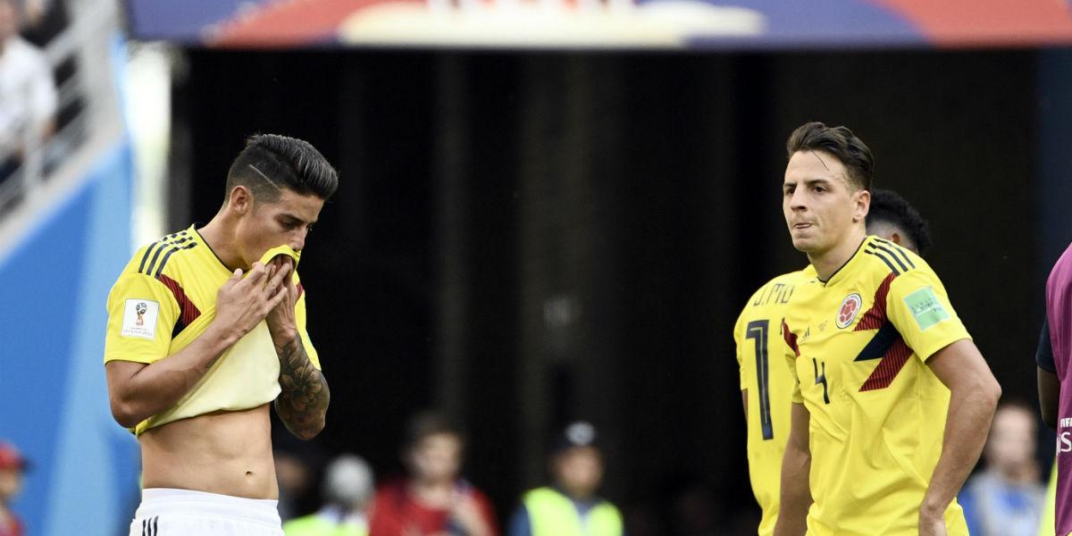 seleccion colombia primera derrota suramericana contra japon afp