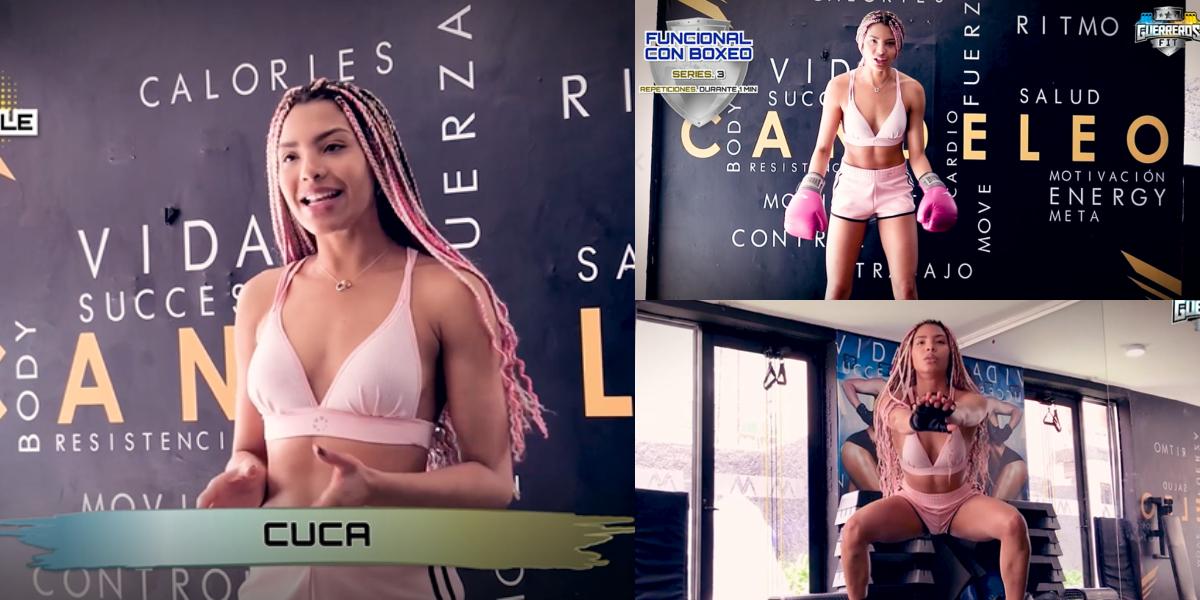Guerreros Fit: 'Cuca' enciende tu cuerpo con esta rutina llena de baile y sensualidad