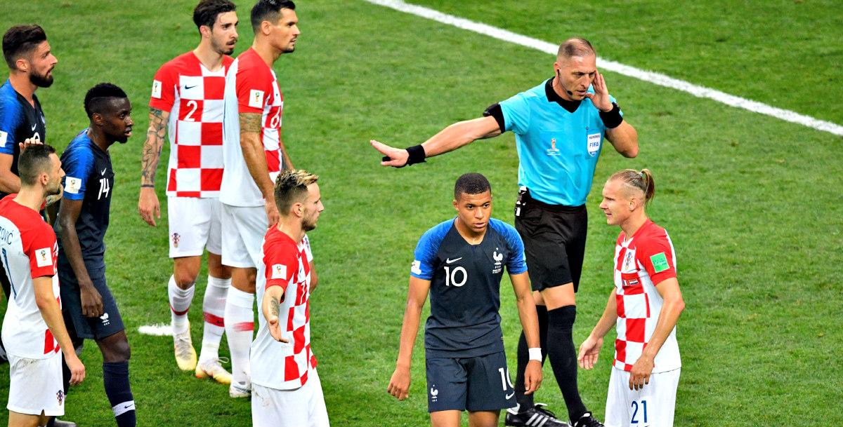 La polémica mano que que el VAR le pitó a Croacia