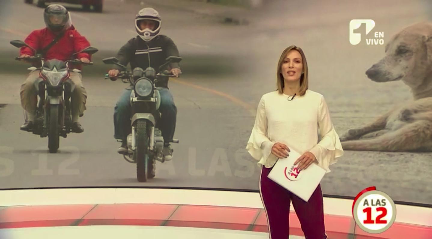 motociclistas sin control