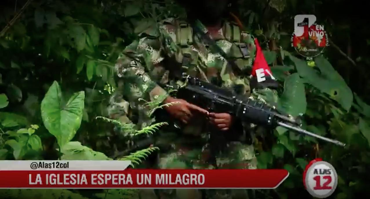 Iglesia Católica en Chocó exige al ELN coherencia mientras discute el acuerdo de paz