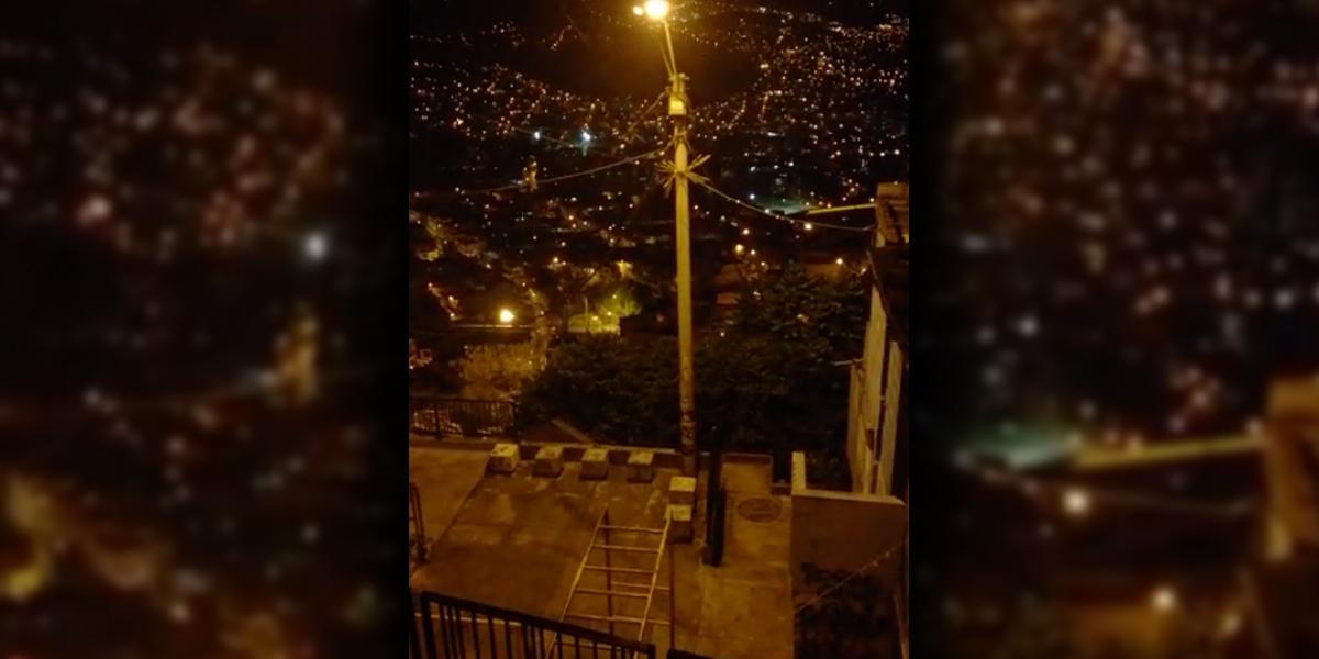 Alerta en Medellín por situación de orden público en la Comuna 13