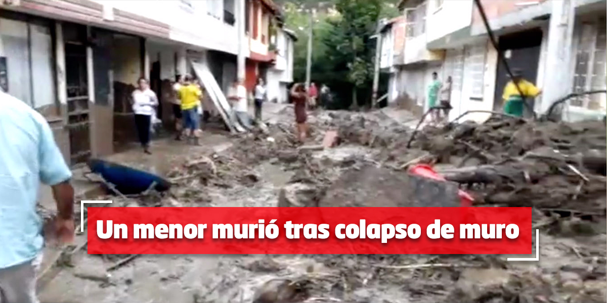 Continúa la alerta roja por fuertes lluvias en San Gil, Santander