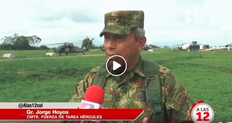 Nuevos operativos militares contra alias «Guacho»
