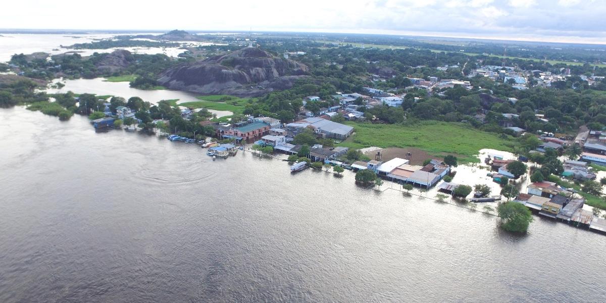50 días completa la capital del departamento del Vichada bajo el agua