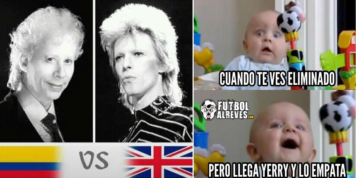 Los memes que dejó el partido de infarto entre Colombia e Inglaterra