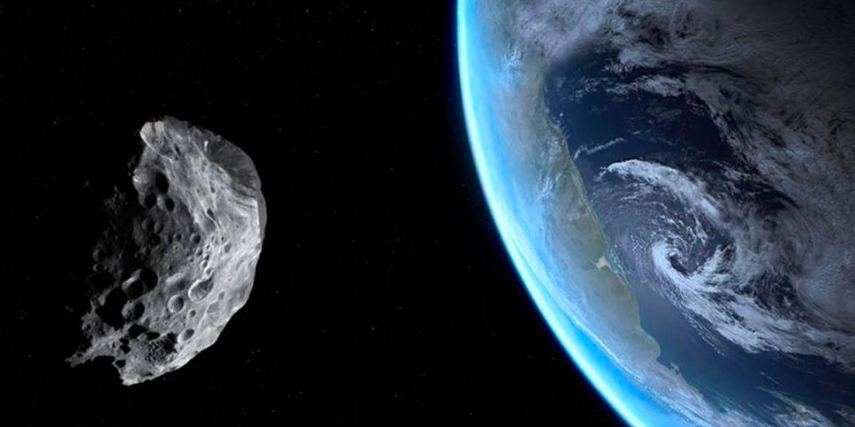 Un gigantesco meteorito se acerca a la tierra