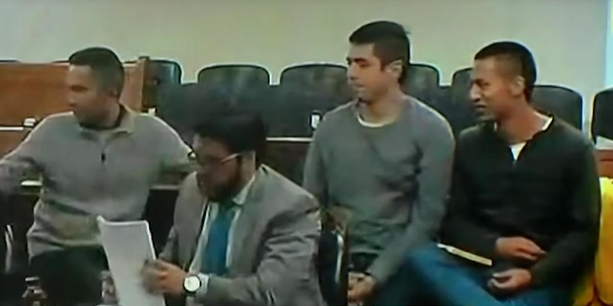 Envían de nuevo a la cárcel a tres de los presuntos responsables de atentado al Andino