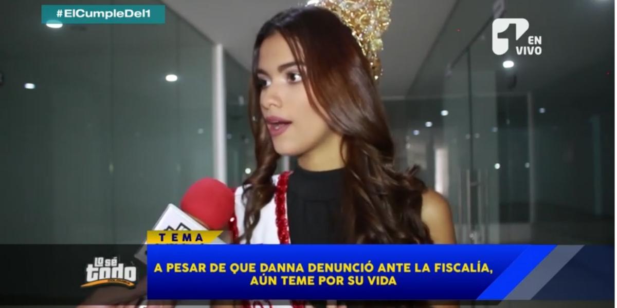 Las amenazas de muerte que recibió la señorita Cúcuta, Danna Mendéz