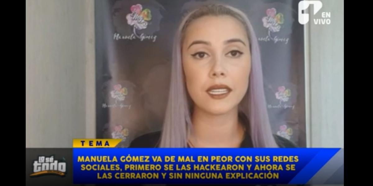 Las razones por las que Manuela Gómez está cansada de Instagram