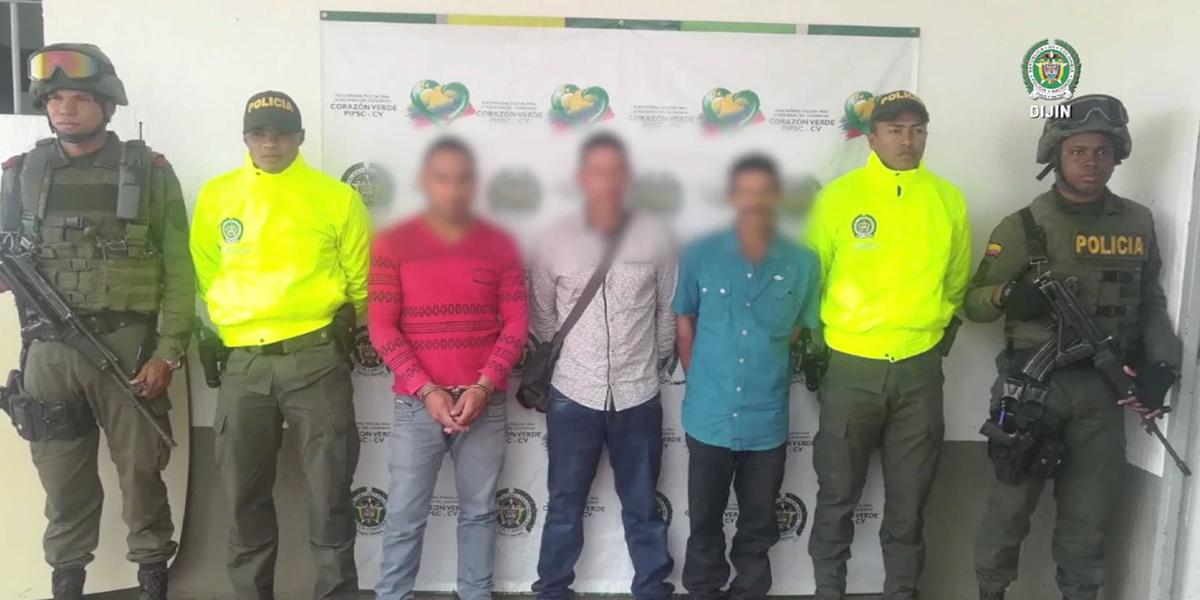 Cae red que proveía armamento al ELN y disidencia de las Farc en Antioquia