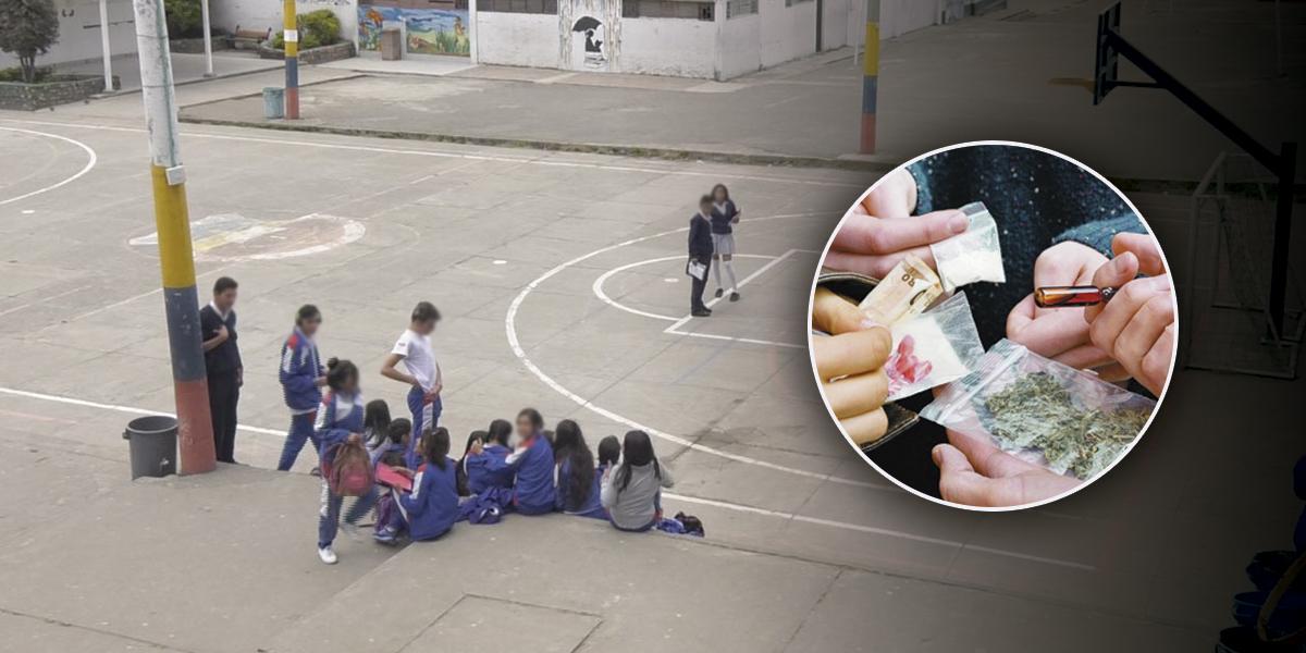 Golpe al microtráfico en entornos escolares: van 469 capturas en lo corrido del año