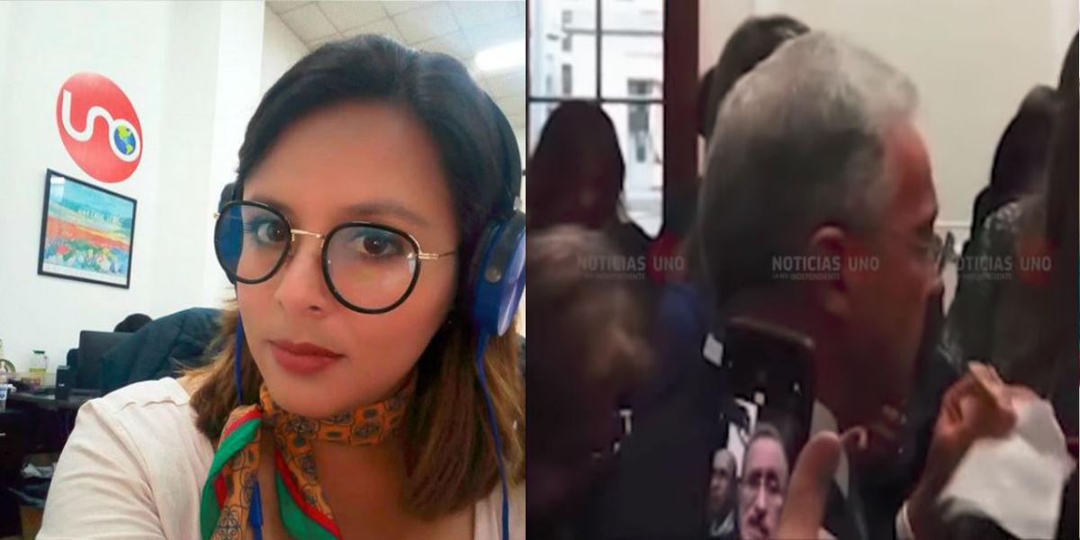 Periodista de Noticias Uno es amenazada de muerte por grabar reunión del uribismo