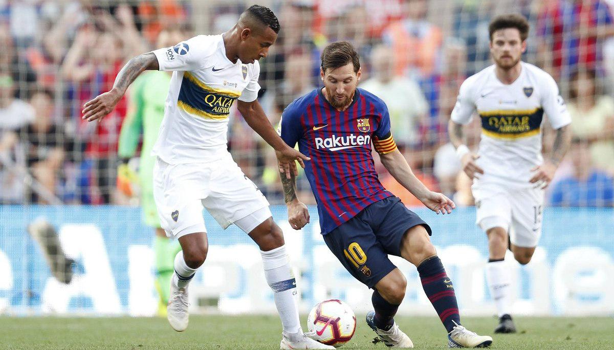 Barcelona 3 – Boca Juniors 0 dejó a un colombiano como gran figura