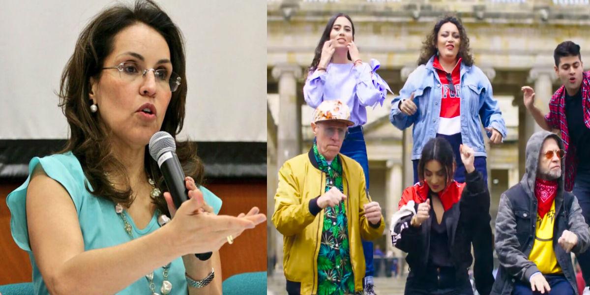 Viviane Morales criticó fuertemente el 'reguetón de la corrupción' de Daniel Samper