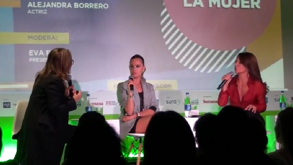 Acalorada discusión entre Alejandra Borrero y Amparo Grisales en debate sobre las mujeres