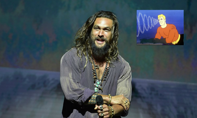 Así se ve Jason Momoa con el traje clásico de 'Aquaman'