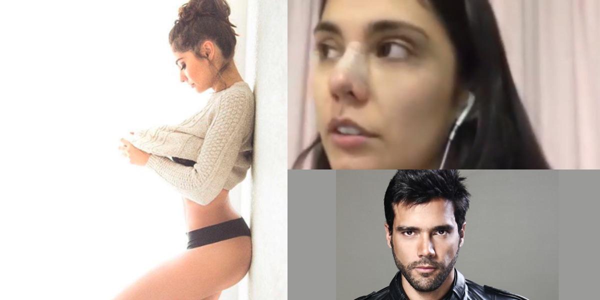 Reconocida actriz colombiana denuncia brutal golpiza por parte de su pareja