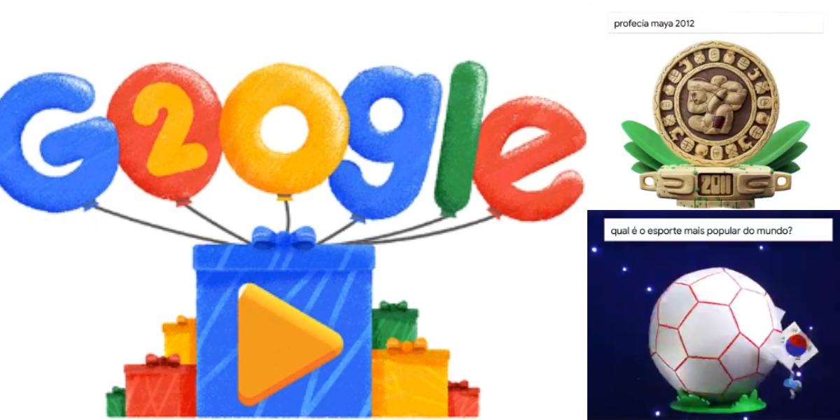Google celebra sus 20 años con un increíble Doodle