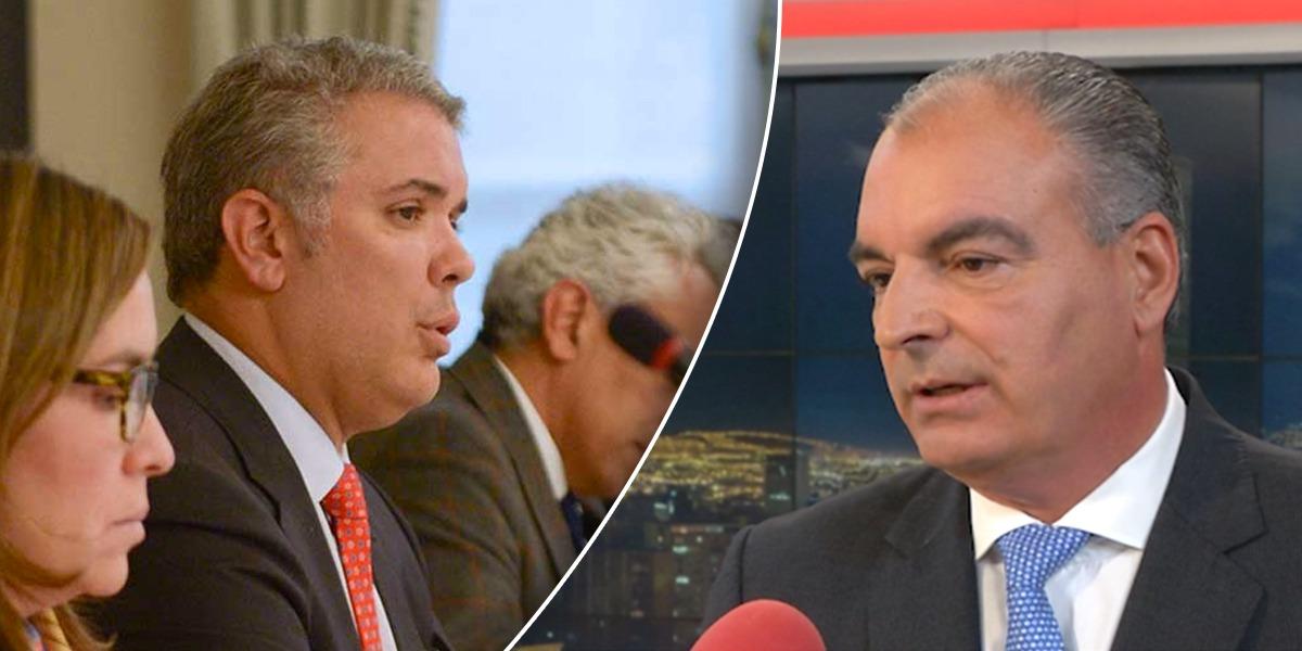 Presidente Duque se reunió en Palacio con presidente del Partido de la U