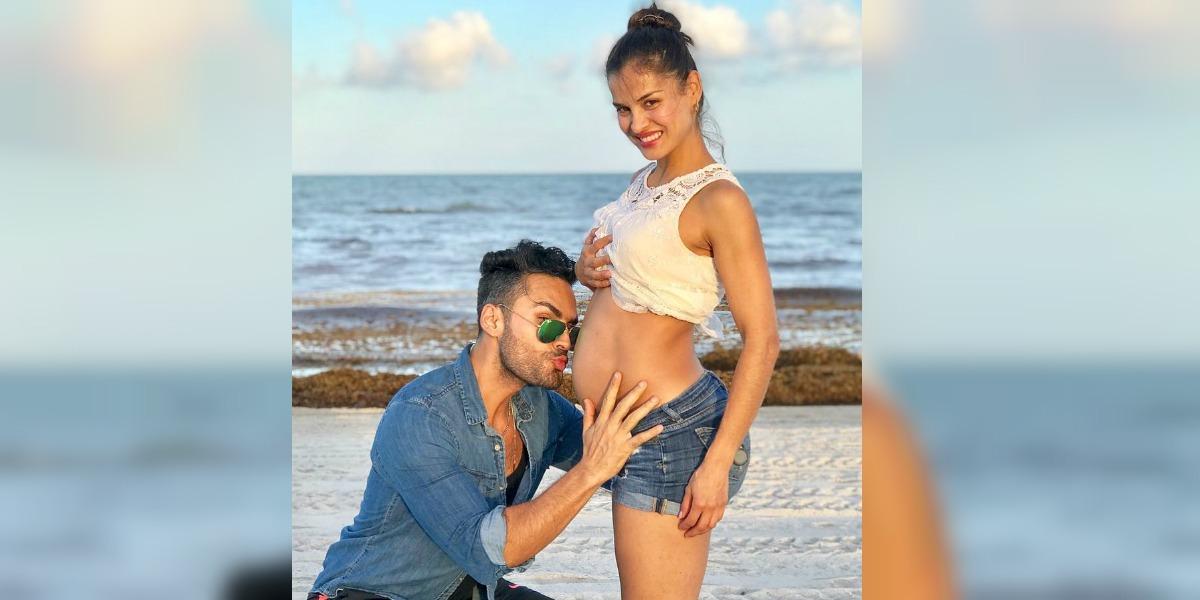 Así se enteraron Fabián Ríos y Yuly Ferreira que serán papás de un niño