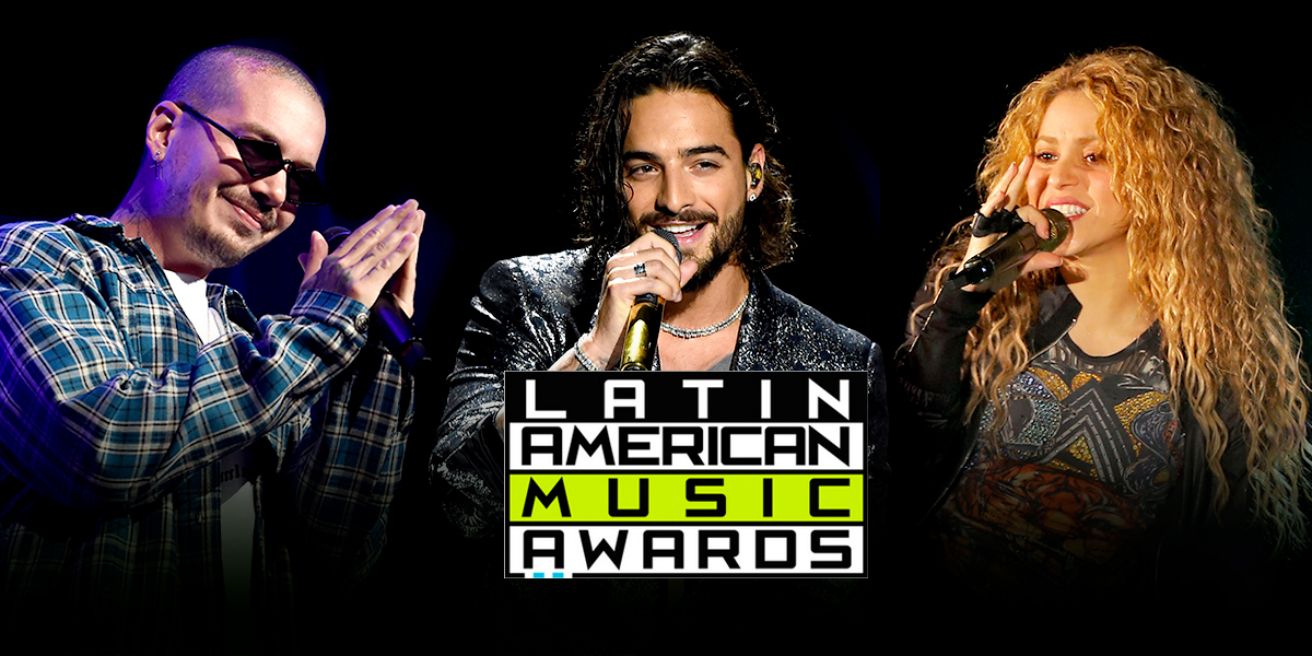 J Balvin, Maluma y Shakira, colombianos nominados a los Latin American Music Awards