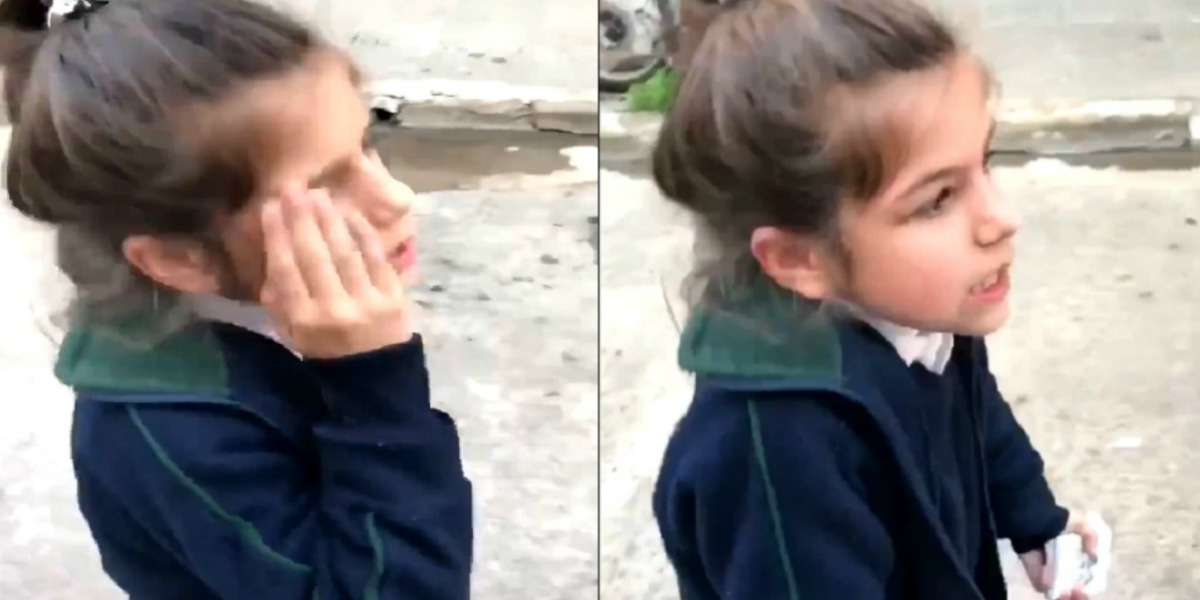 El curioso reclamo de una niña a su mamá por llevarla tarde al colegio