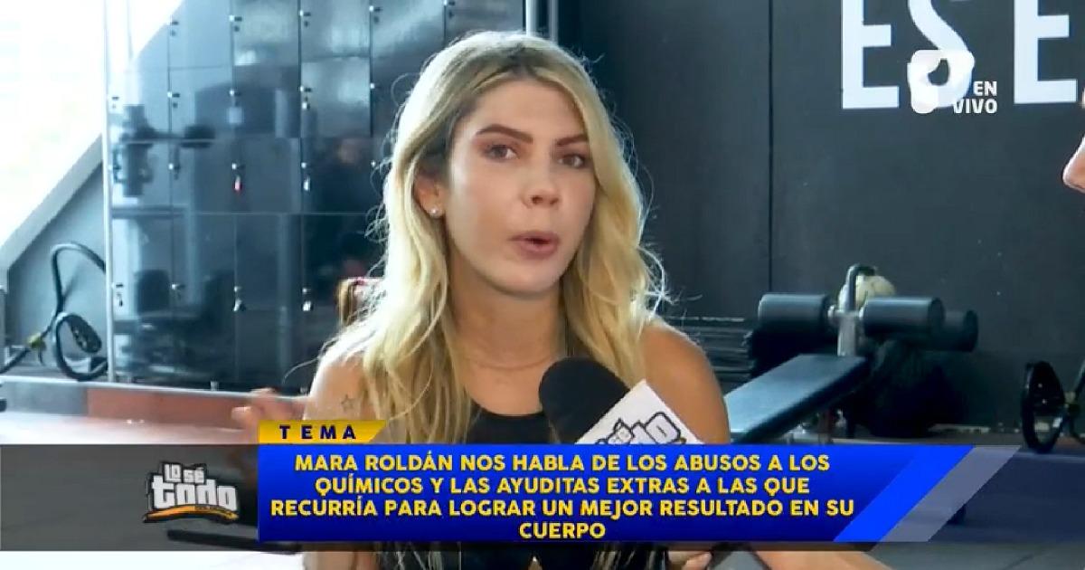 Mara Roldán revela los abusos químicos a los que llegó por un buen cuerpo