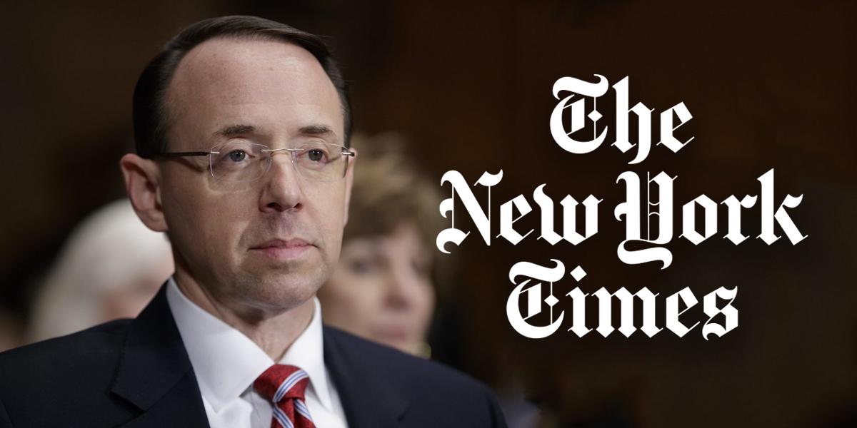 Vicefiscal de EUA propuso complot contra Trump según The New York Times