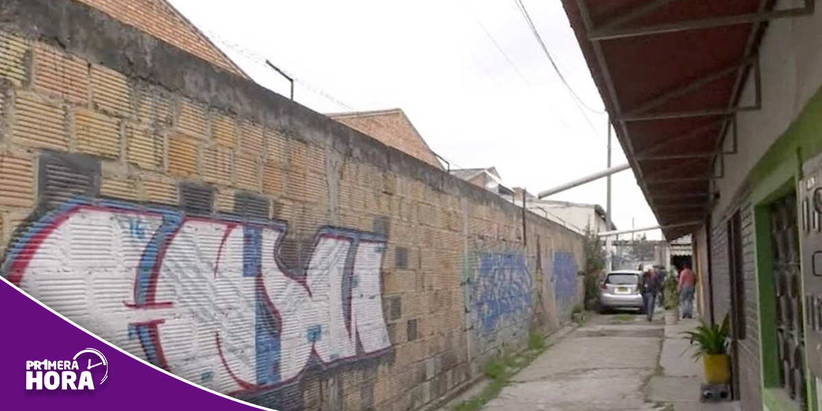 Denuncian un 'callejón de la muerte' en el barrio Fontibón de Bogotá