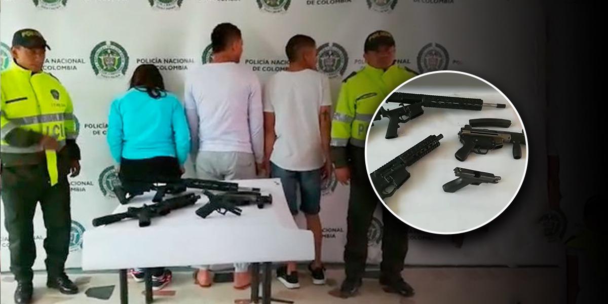 Incautan armas en casa donde al parecer cuidaban niños en Kennedy