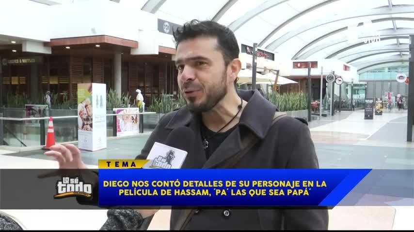 Diego Camargo confesó que en la vida ha sido muy irresponsable