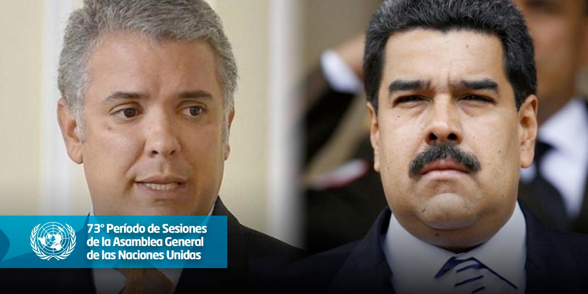 Duque pide un 'cerco diplomático' para terminar con la 'dictadura' de Maduro