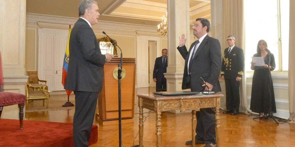 Pdte. Duque advierte que Colombia no tiene lenguaje, ni actitudes belicistas