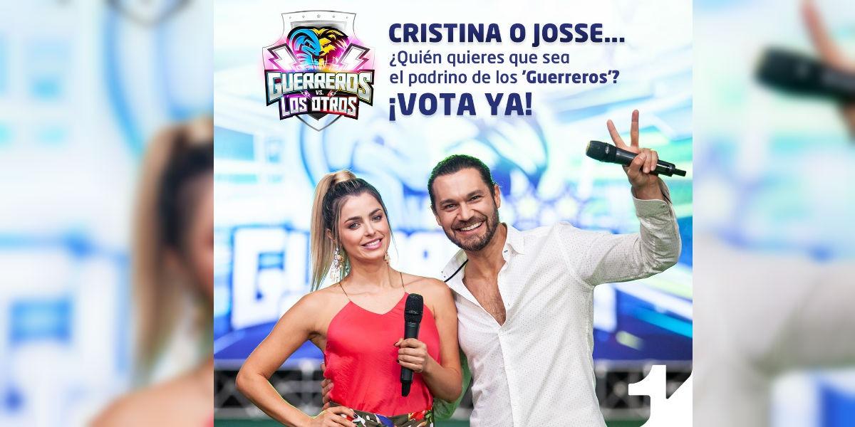 Cristina Hurtado o Josse Narváez… ¿Quién quieres que sea el padrino de los 'Guerreros'?