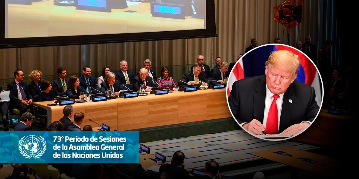 130 países firman en la ONU declaración para luchar contra problema mundial de drogas
