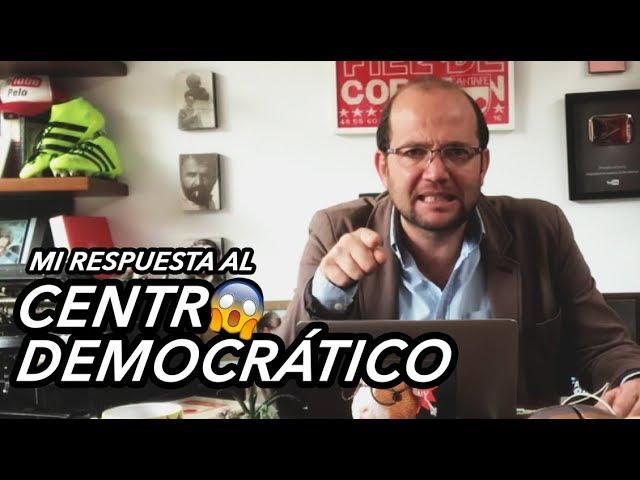 Muy a su estilo, Daniel Samper responde a comunicado del uribismo sobre Paloma Valencia