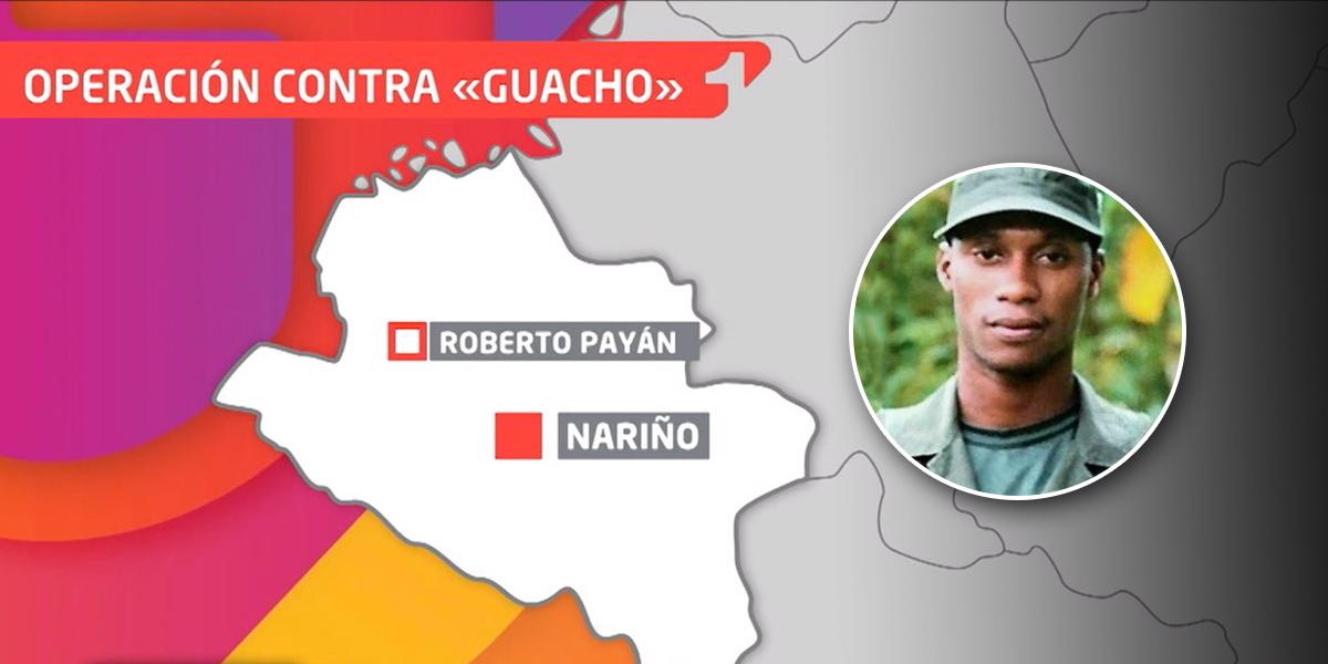 Incertidumbre en Nariño por el paradero de alias 'Guacho'